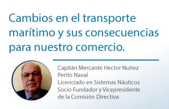 Cambios en el transporte marítimo y sus consecuencias para nuestro comercio